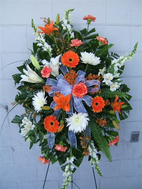 Hatler florist gift gallery services standing sprays make a beautiful expression of sympathy solutioingenieria Gallery